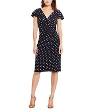 Lauren Ralph Lauren Womens Flutter Sleeve Dress Black, 2, 2545-3 - $49.00