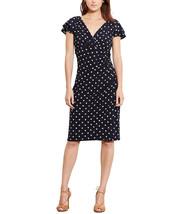 Lauren Ralph Lauren Womens Flutter Sleeve Dress Black, 2, 2545-3 - $49.00