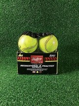 Rawlings Recreational & Practice 4 Softballs - $9.99