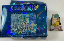 Disneyland 60 Limited Edition 550 Mystery Pin Series 3 Belle Beauty Beast 1 pin - $19.79