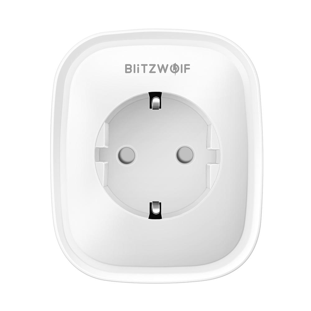 BlitzWolf BW-SHP2 Smart WIFI Socket EU Plug 220V 16A Work with Amazon Alexa Goog