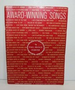 Paul Francis Webster Award Winning Songs Piano Songbook - $16.19