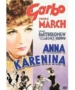 Anna Karenina 1935 Greta Garbo DVD  Frederick March UPC 012569673779 Cla... - $6.92