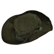 GREEN BOONIE HAT FOR HUNTING, FISHING, HIKING & OUTDOOR USE - MILITARY S... - $9.95