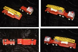Fire Engine Toy Truck Vintage Buddy L Metal & Plastic - $33.99
