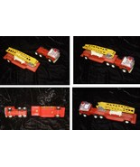 Fire Engine Toy Truck Vintage Buddy L Metal & Plastic - $33.99