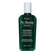 GiGi No Bump Skin Smoothing Topical Solution for after shaving, waxing or laser