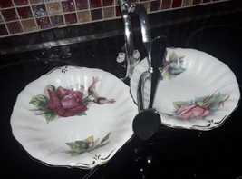 Roslyn China, Wheatcroft Rose,  Rendezvous & Grand Gala Patterns, Conser... - $27.43