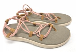Teva Voya Infinity Tropical Peach Sandals Womens Shoes 1019622 Strappy S... - $38.99
