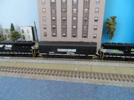 n scale BACHMANN diesel dummy loco engine 8892 norfolk southern custom   - $32.95