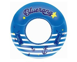 "Winnie Connie Bluerang Children Swim Ring Tube Inflatable Floats 31.8"" 81cm image 2"