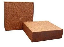 1 kg COCO FIBER BLOCK coconut coir worm castings media hydroponic soille... - £10.97 GBP
