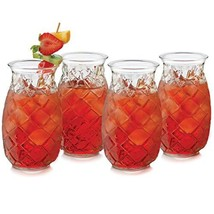 Libbey Tiki Pineapple Glasses, Set of 4 - $27.68