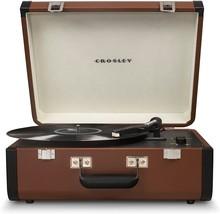 Crosley CR6252A-BR Portfolio Portable Bluetooth Record Player Turntable ... - £82.44 GBP