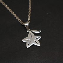 Sterling Silver Paopu Fruit Kingdom Hearts Necklace Pendant - $52.00