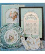 1989 Baby Cuddles & Snuggles Cross Stitch Grandma & Pa Bunnies Bear Patt... - $12.99