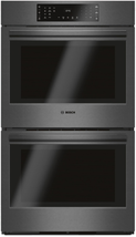 """Bosch HBL8642UC  800 Series 30"""" Double Electric Wall Oven Black Stainless - $2,173.09"""