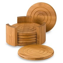Lipper International Bamboo Coasters (Set of 6) - $12.99