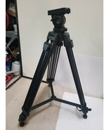 LIBEC TH-650HD TRIPOD for video broadcasting Video Tripod Lightly used - $319.32
