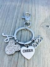 2020 Worlds Cheer D2 Summit All Star Zipper Pull Key chain for Cheerlead... - €13,78 EUR