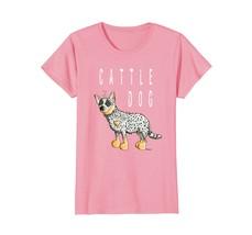 Fun Australian Cattle Dog T Shirt Cartoon Dogs Tee Gift - $19.99+