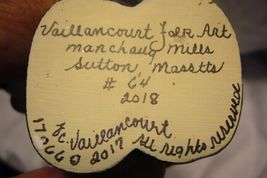 Vaillancourt Folk Art Day of the Dead Boy Personally signed by Judi! image 5