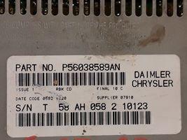 02 03 04 05 06 Dodge Chrysler Jeep AM FM CD radio receiver OEM P56038589AN image 3