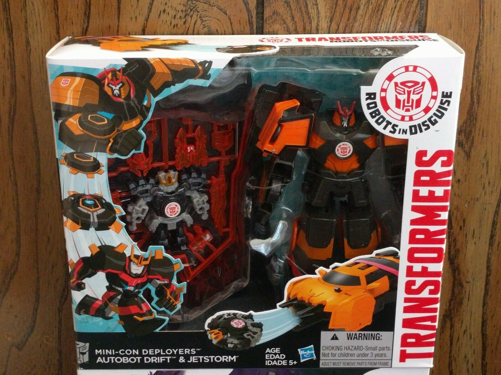 Transformers DRIFT & FRACTURE RID Deployers Robots in Disguise minicons MISB