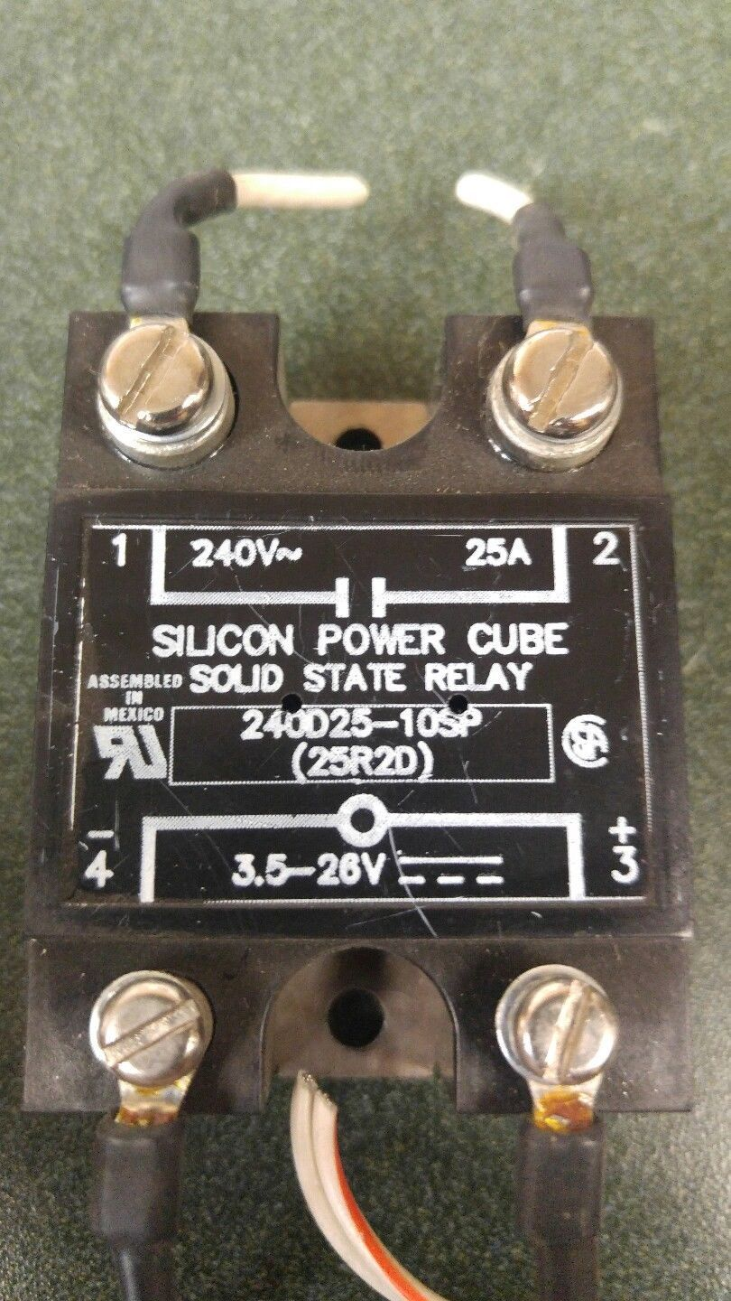 Silicon Power Cube Solid State Relay And 50 Similar Items 240v Ac S L1600