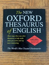 Oxford Thesaurus Of English Computer Software - $39.48