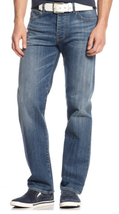 Armani Jeans Men's J21 Straight Fit Light Wash Jeans,ZMJ71/5K, Size 32X3... - $89.09