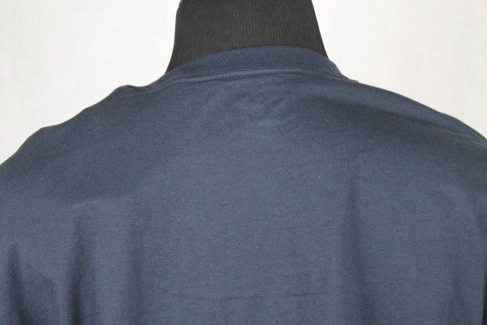 Champion Utah State Mens Short Sleeve T-Shirt sz XL Blue image 5