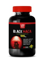 boost sustained natural energy - BLACK MACA - healthy energy booster 1 BOTTLE - $14.92
