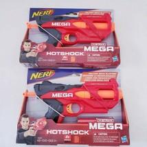 2 Nerf N-Strike Hotshock Mega Dart Blaster w/ 2 Darts Hasbro NEW - $19.39