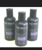 Nexxus KERAPHIX Damage Healing Conditioner Travel Size 3 OZ 89 mL Lot of 3 - $20.08