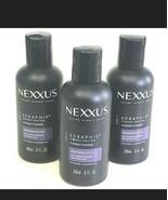 Nexxus KERAPHIX Damage Healing Conditioner Travel Size 3 OZ 89 mL Lot of 3 - $16.73