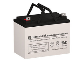 PowerCell PC12340 AGM / GEL U1 Battery Replacement by SigmasTek - $79.99