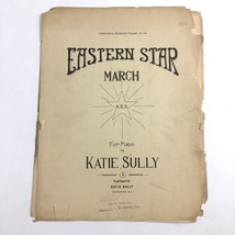 Eastern Star March OES Rockford Chapter No 53 Sheet Music Masons Illinois - $34.60