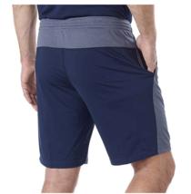 NEW Reebok Men's Speedwick Active Athletic Shorts Gray/Navy Size Medium image 2