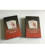 Two Decks of Four Queens Casino Playing Cards, Las Vegas, 1 unused & 1 used - $12.00