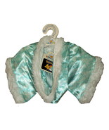 Build A Bear Pokemon Alolan Vulpix Signature Cape Winter Green with Whit... - $44.99
