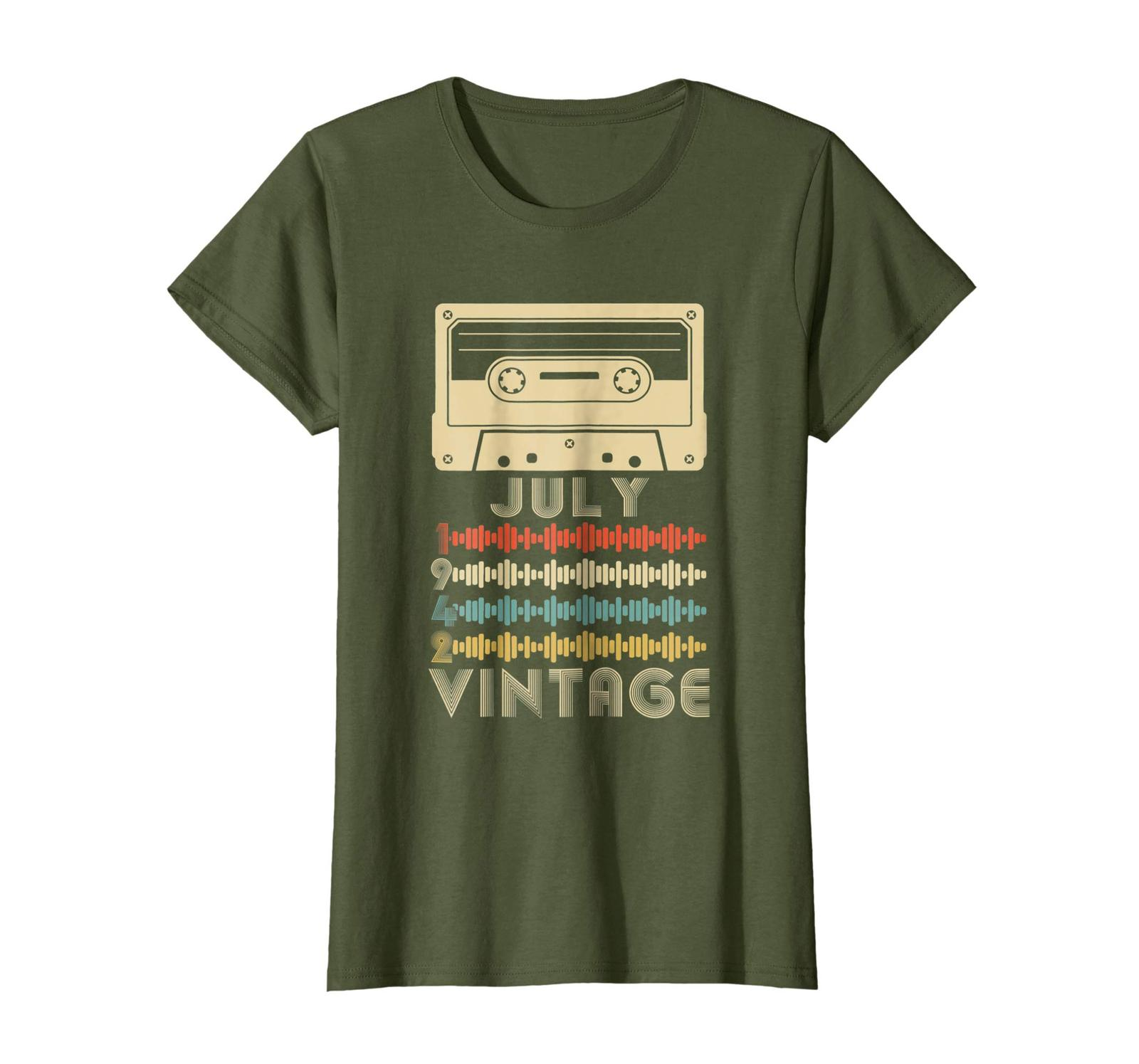 Uncle Shirts -   Vintage Retro Made In July 1942 76th Birthday Gift 76 years Wow image 2