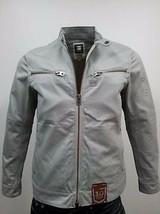 G Star RAW 5620 MOTOR Biker Zip Jacket in Industrial Grey, Size S BNWT $250 - $79.75