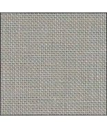 Pearl Gray 36ct Edinburgh Linen 18x27 1/4yd cut Zweigart cross stitch fa... - $17.10