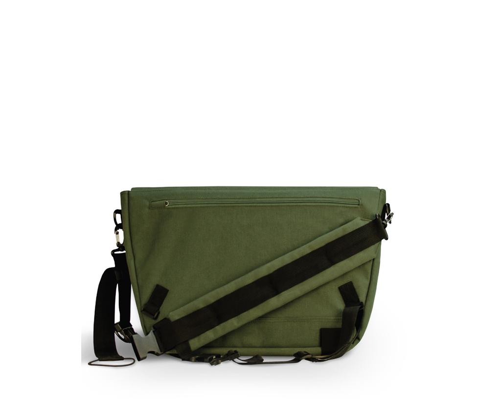 d526fb14653e5a Far Cry 4 Messenger Bag Army Green 100% Polyester 15'' x 12'