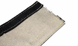 "Heat Shroud Aluminized Sleeving with Hook and Loop Closure Silver 3/4""x36"" (3ft) image 8"