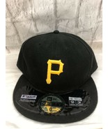 New Era 59Fifty Pirates Authentic Collection Fitted Black Gold Baseball ... - $23.36