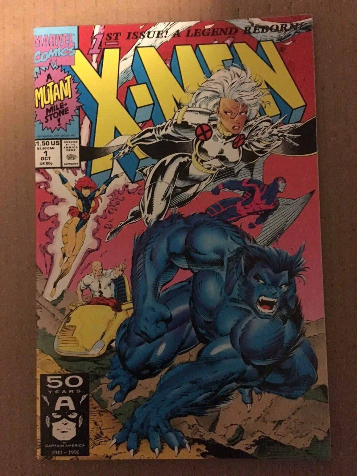 X-Men #1 1991 Marvel Comic Book NM/M 9.2 Condition BEAST & STORM COVER