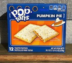 Pumpkin Poptarts Toaster Pastries Frosted Pumpkin Pie 12ct Pop Tarts - $11.85