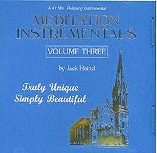 Meditation instrumentals vol. 3 by jack heinzl